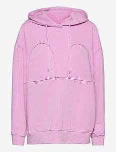 MICKEY OVERSIZED HOODIE - sweatshirts & hættetrøjer - pastel lavendel