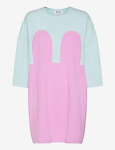 MICKEY SQUARE DRESS - sommerkjoler - hint of mint/pastel lavendel