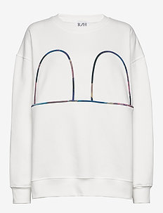 Mickey Sweater - sweatshirts - white