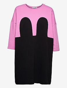 Mickey Square Dress - sukienki letnie - violet/black