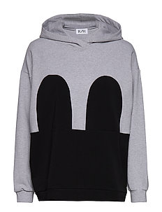 Mickey Hoodie - LIGHT GREY / BLACK