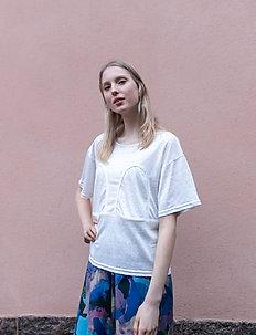 Mickey Short Loose Tee - t-shirts - white