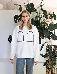 Mickey Sweater - svetarit - white