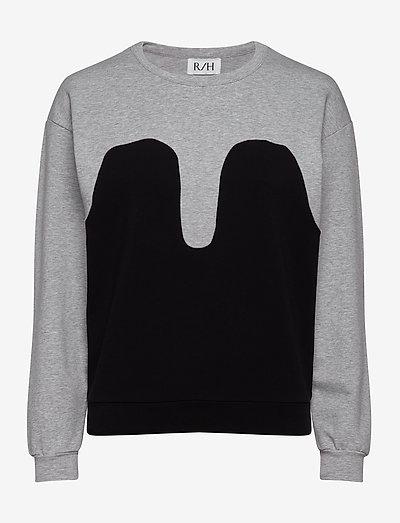 Magic Sweater - gensere og hettegensere - light grey / black