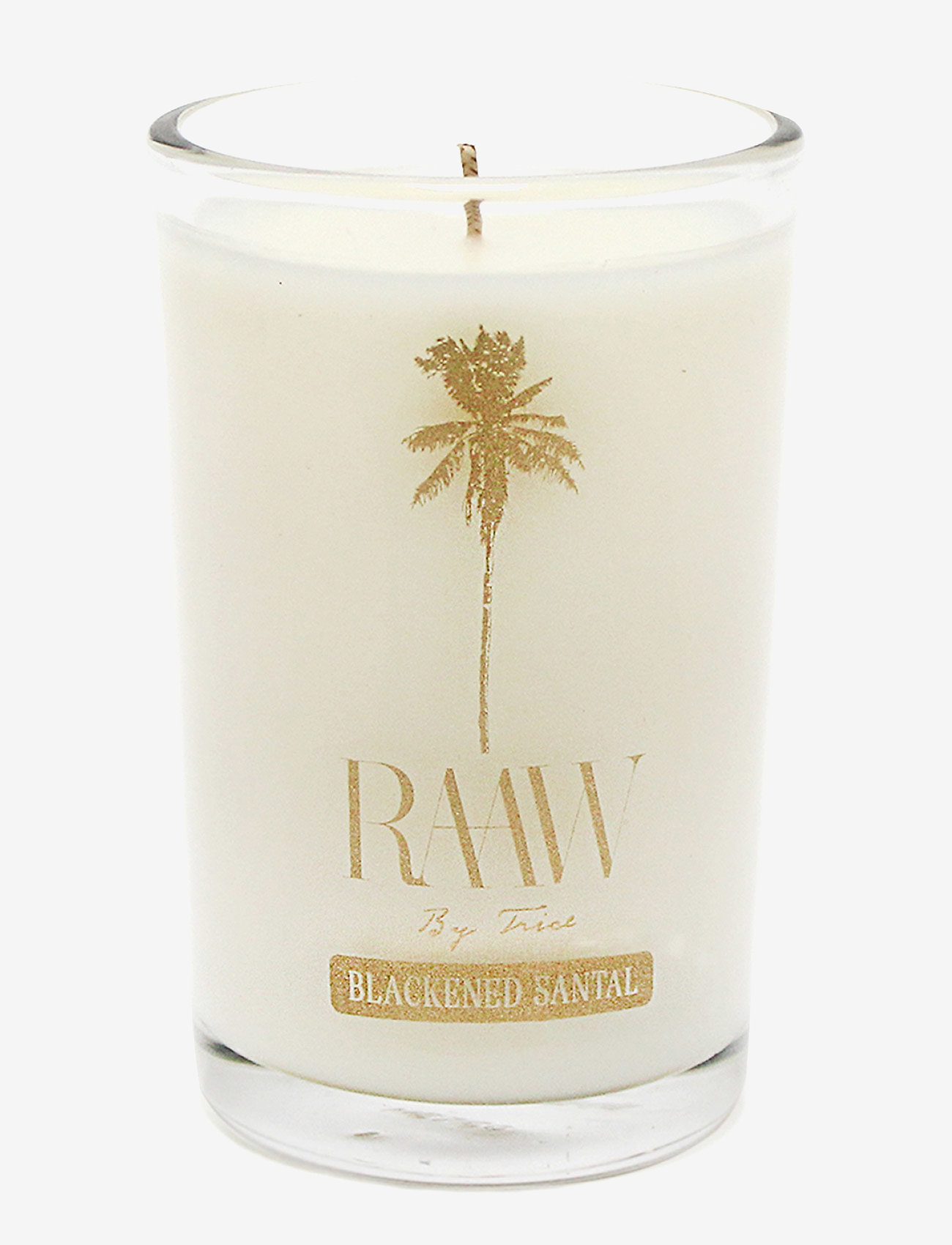Raaw by Trice - BLACKENED SANTAL SCENTED CANDLE - dufte - no color - 0