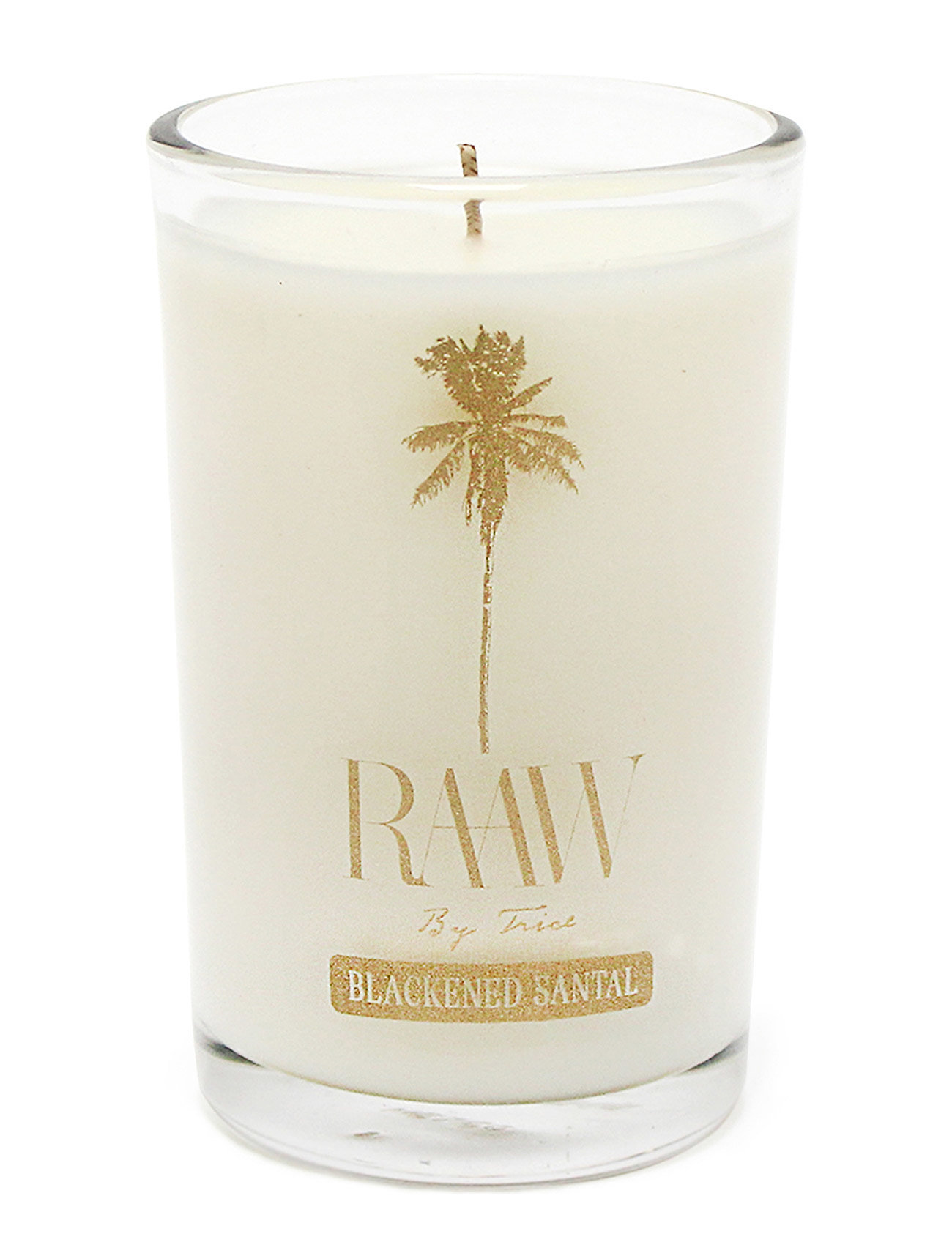Raaw by Trice BLACKENED SANTAL SCENTED CANDLE - NO COLOR