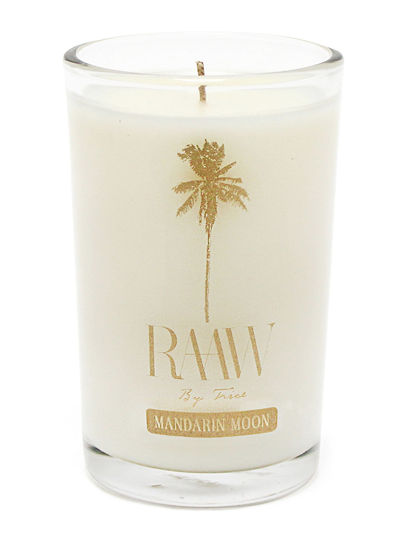 Raaw by Trice Mandarin Moon scented candle Home