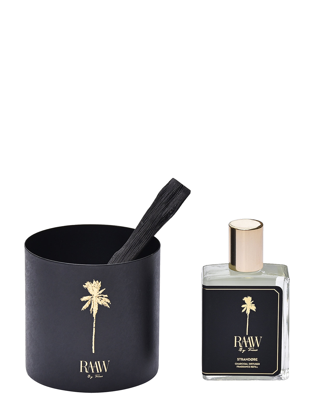 Raaw by Trice Strandoere Charcoal Diffuser - NO COLOUR