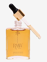 Raaw by Trice - Drops of Gold facial oil - ansiktsoljer - no colour - 0