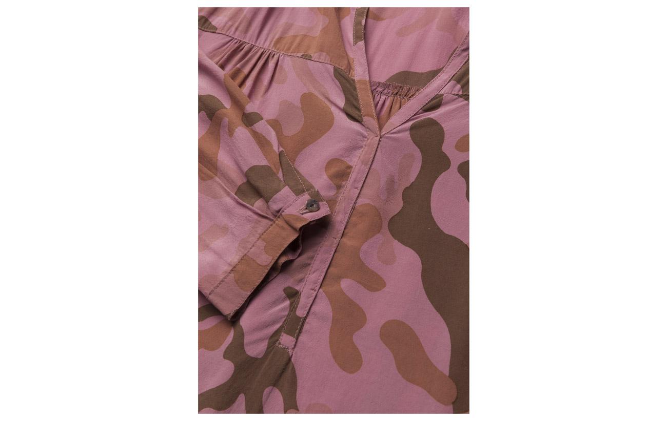 Blouse 100 Viscose Camouflage Desert L Rabens Red Saloner s 8R0O774q
