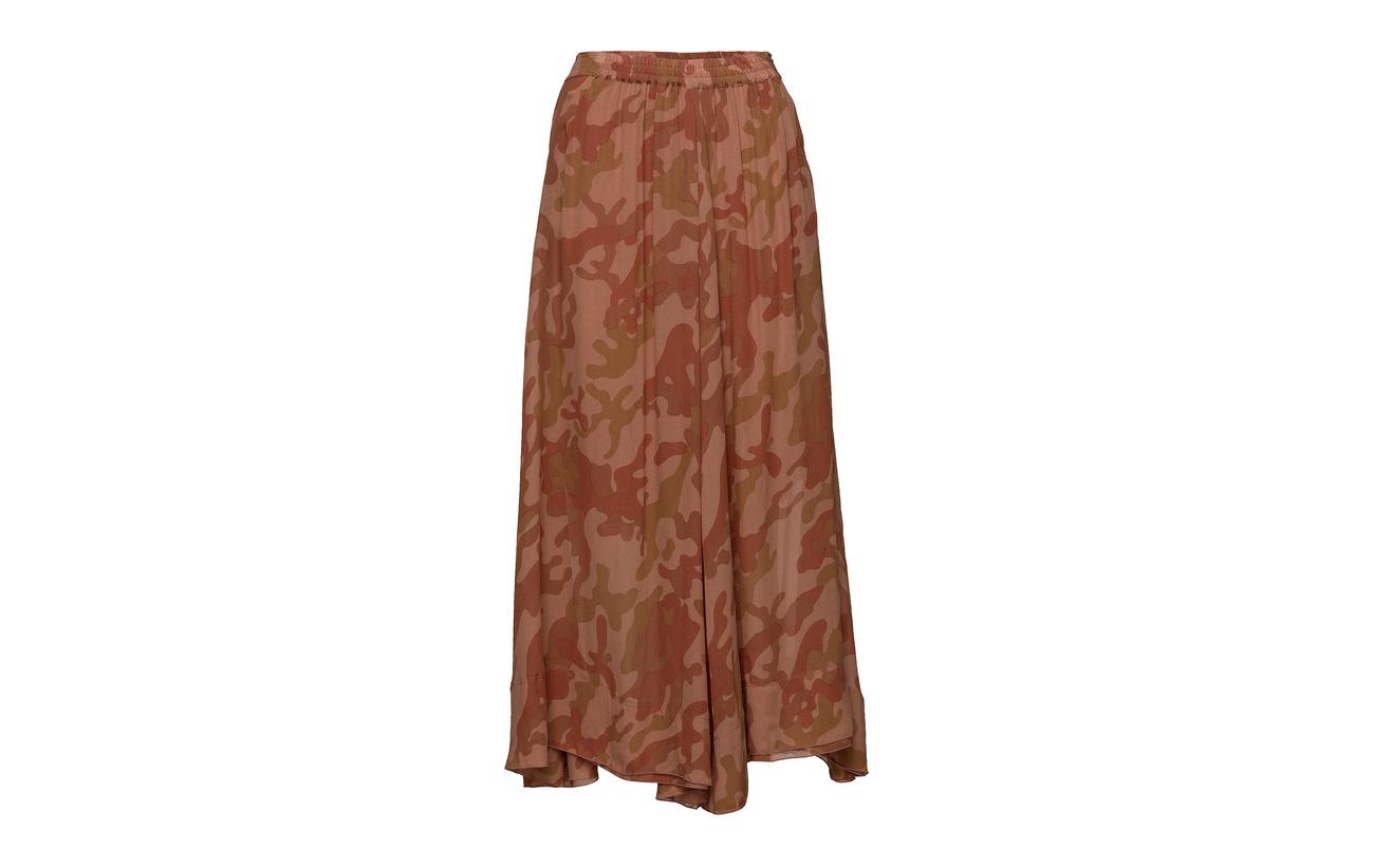 Intérieure Rabens Camouflage 100 Doublure Desert Saloner Skirt Red Équipement Viscose wZqYB7w