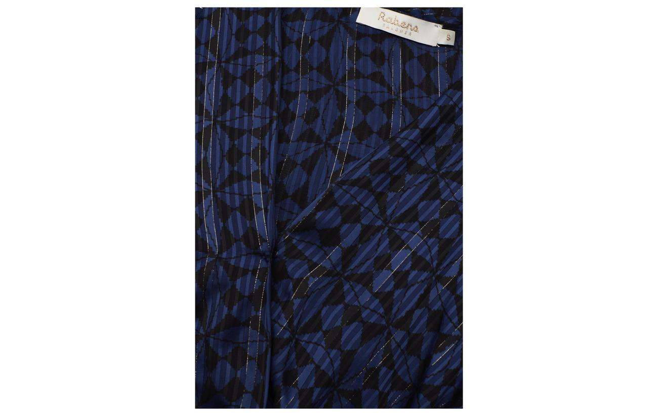 Viscose Doublure Équipement Yarn 100 Rabens 5 95 Dress Saloner Graphic Métallique Long Intérieure Viscose Caramel Lurex nqBRZg7q