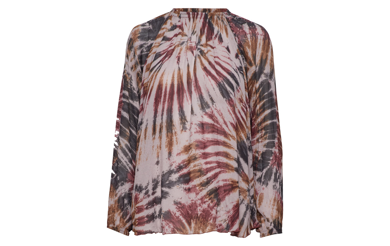 Viscose Abstract 100 Saloner Rabens Blouse Aubegine Fq8w6YYx