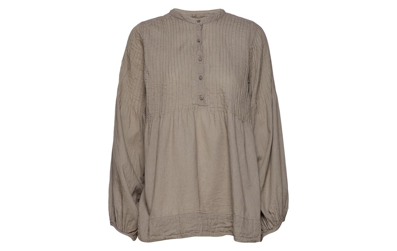 Saloner Top Rabens 100 Cotton Coton Pintuck White ZwTP4d