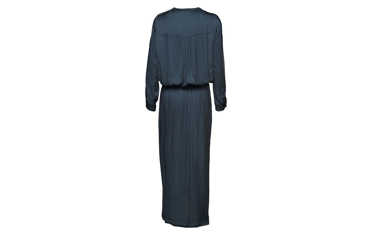L Rabens Dark Powder s Dress Solid Wrap Saloner 100 Viscose Over SwqSrpX