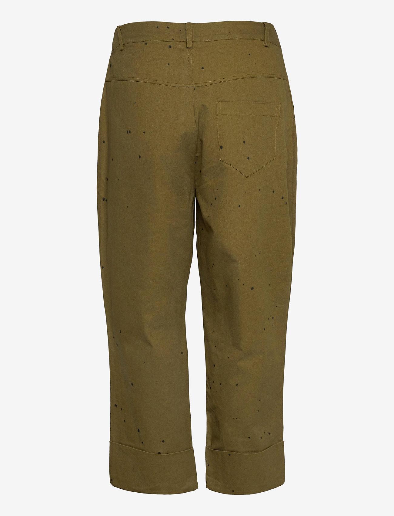 Rabens Saloner - Nannali - pantalons capri - army - 1