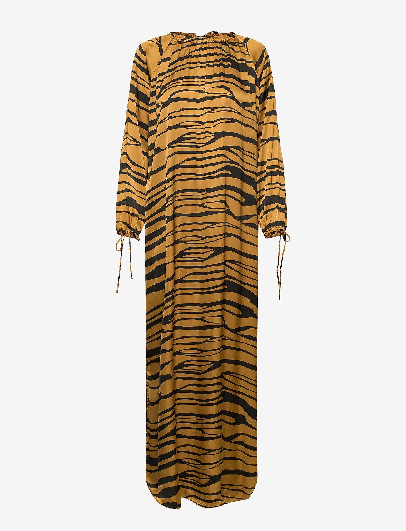 Rabens Saloner - Addi - maxi dresses - cognac/black - 0