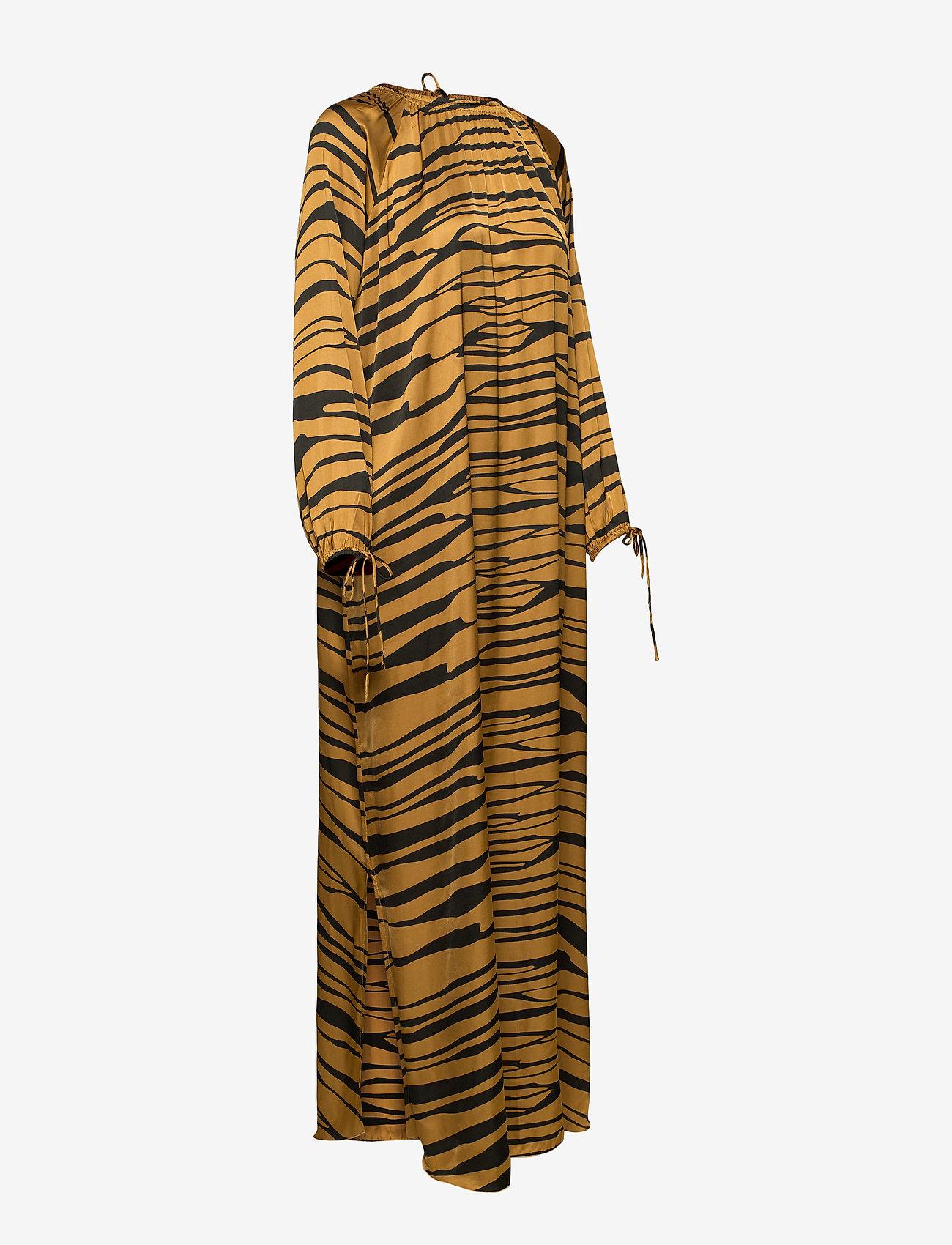 Rabens Saloner - Addi - maxi dresses - cognac/black - 2