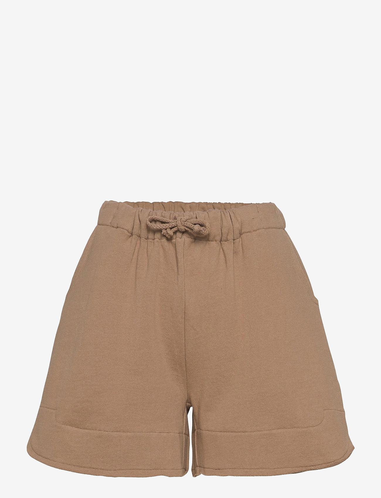 Rabens Saloner - Jetta - shorts casual - tobacco - 0