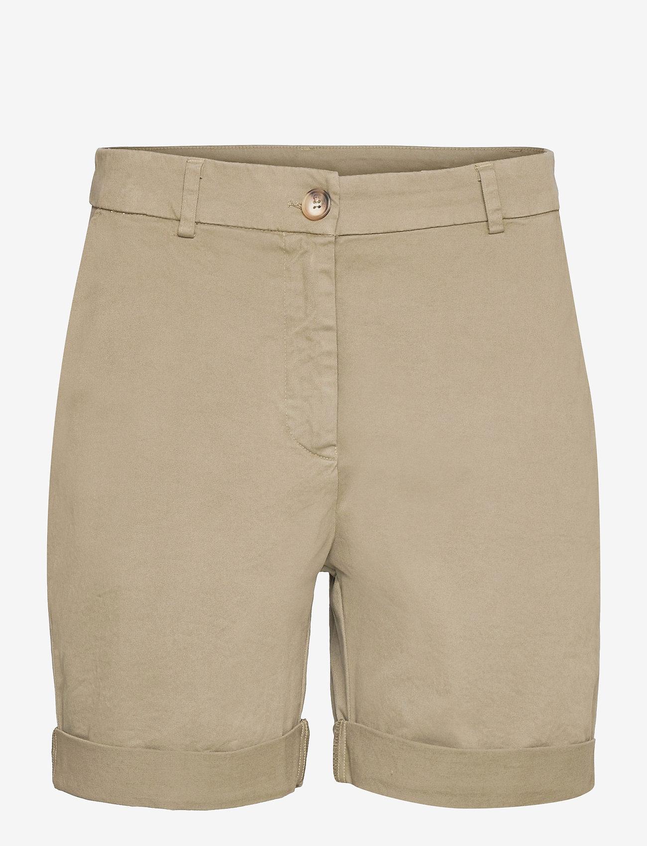 Rabens Saloner - Calina - chino shorts - army - 0