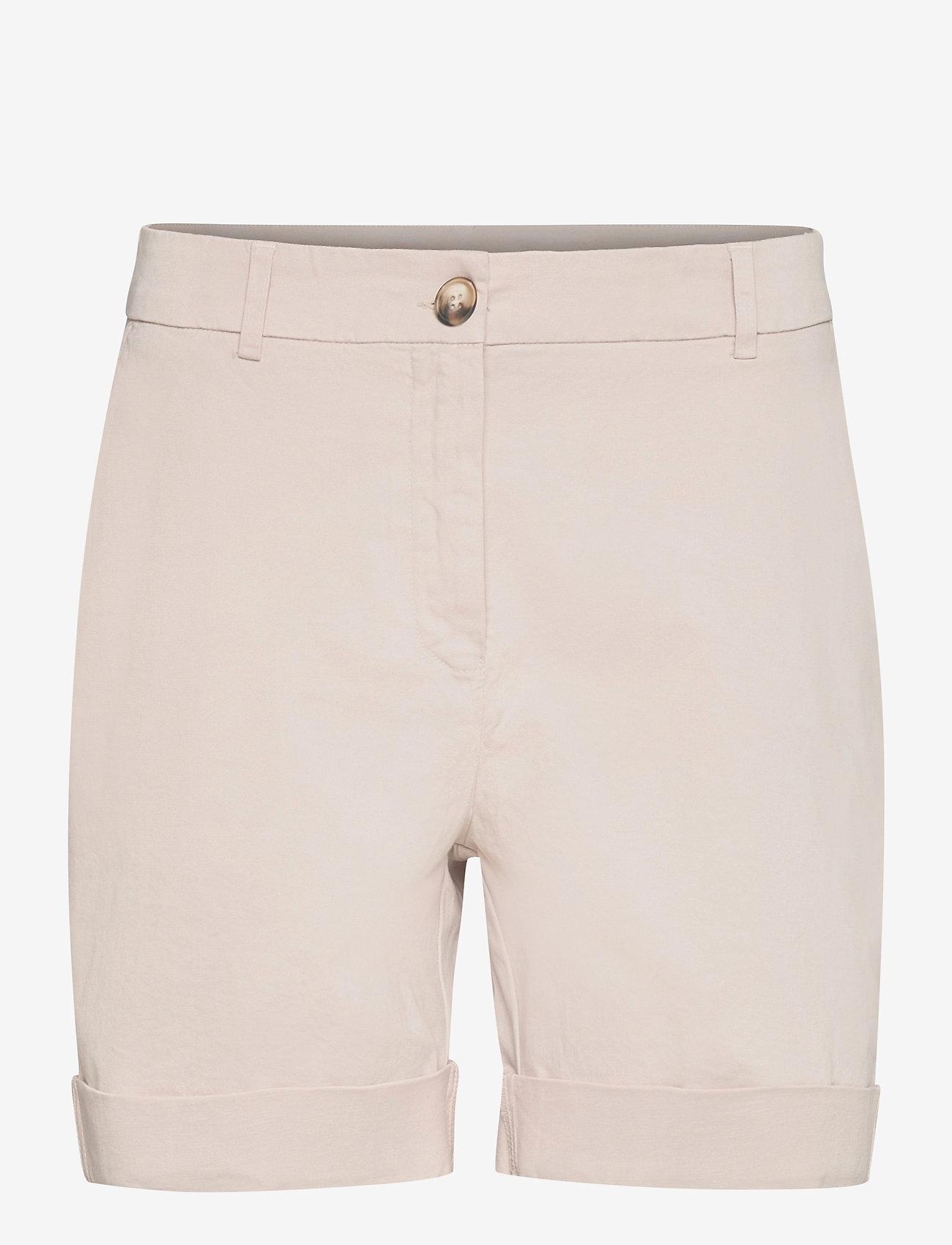 Rabens Saloner - Calina - chino shorts - off white - 0