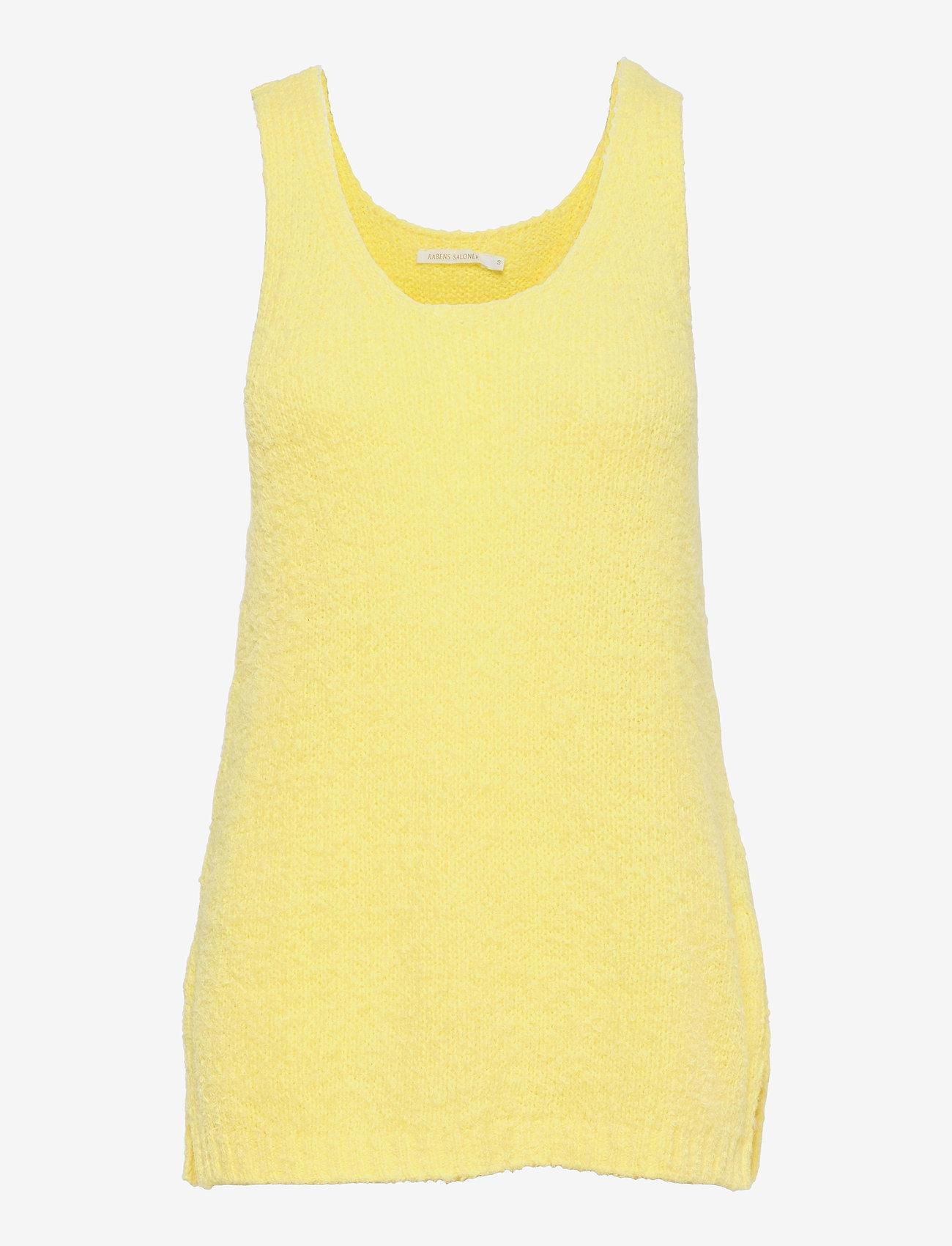 Rabens Saloner - Inka - t-shirt & tops - lemon - 0