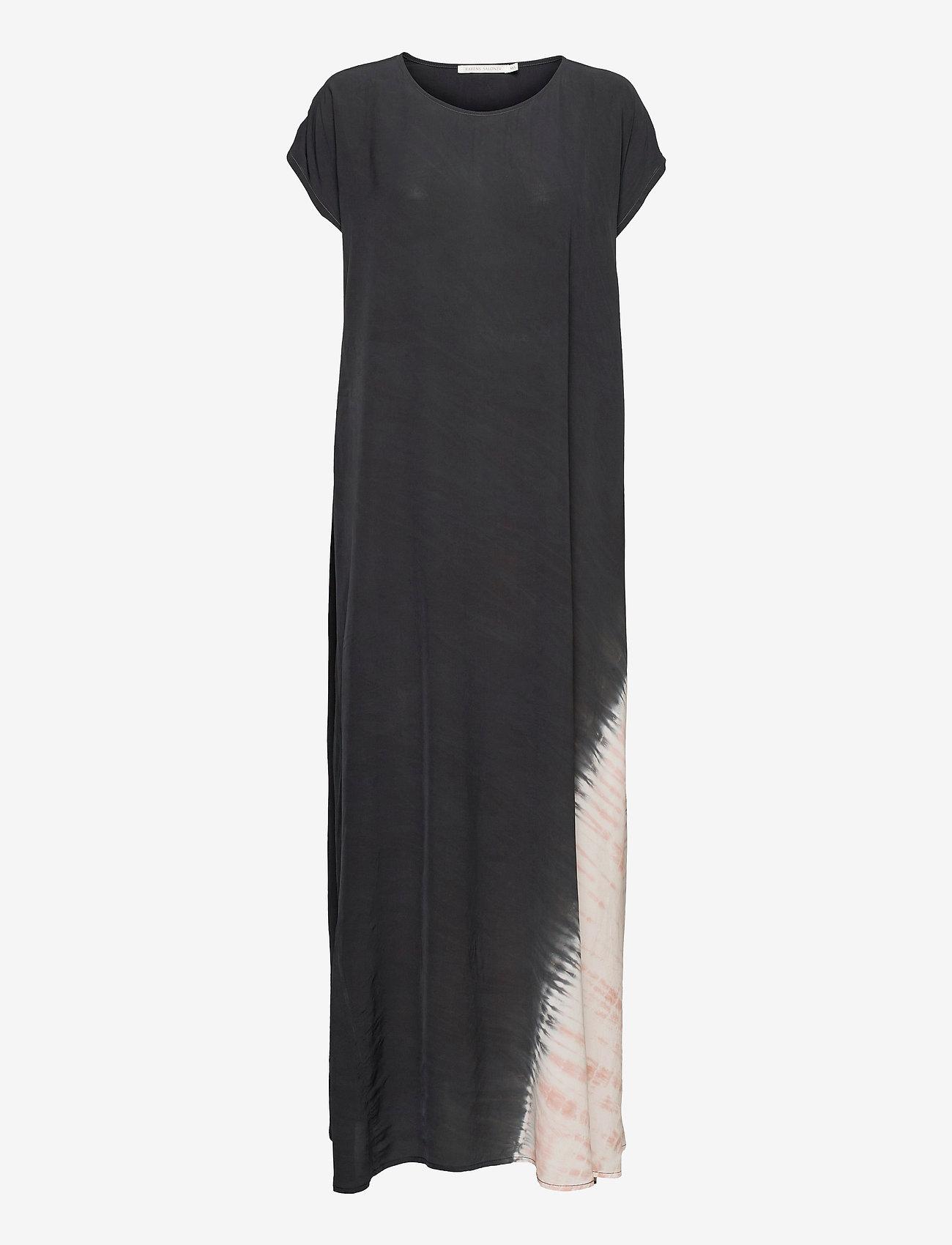 Rabens Saloner - Jada - maxi dresses - faded black combo - 0