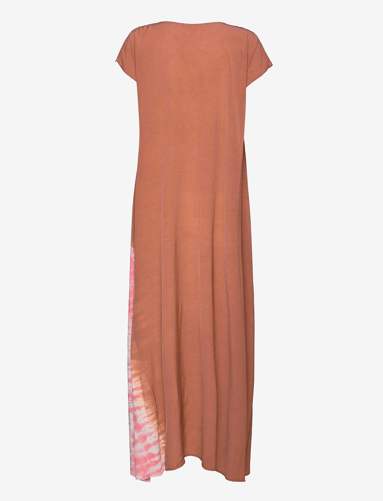Rabens Saloner - Jada - maxi dresses - terracota/pink combo - 1