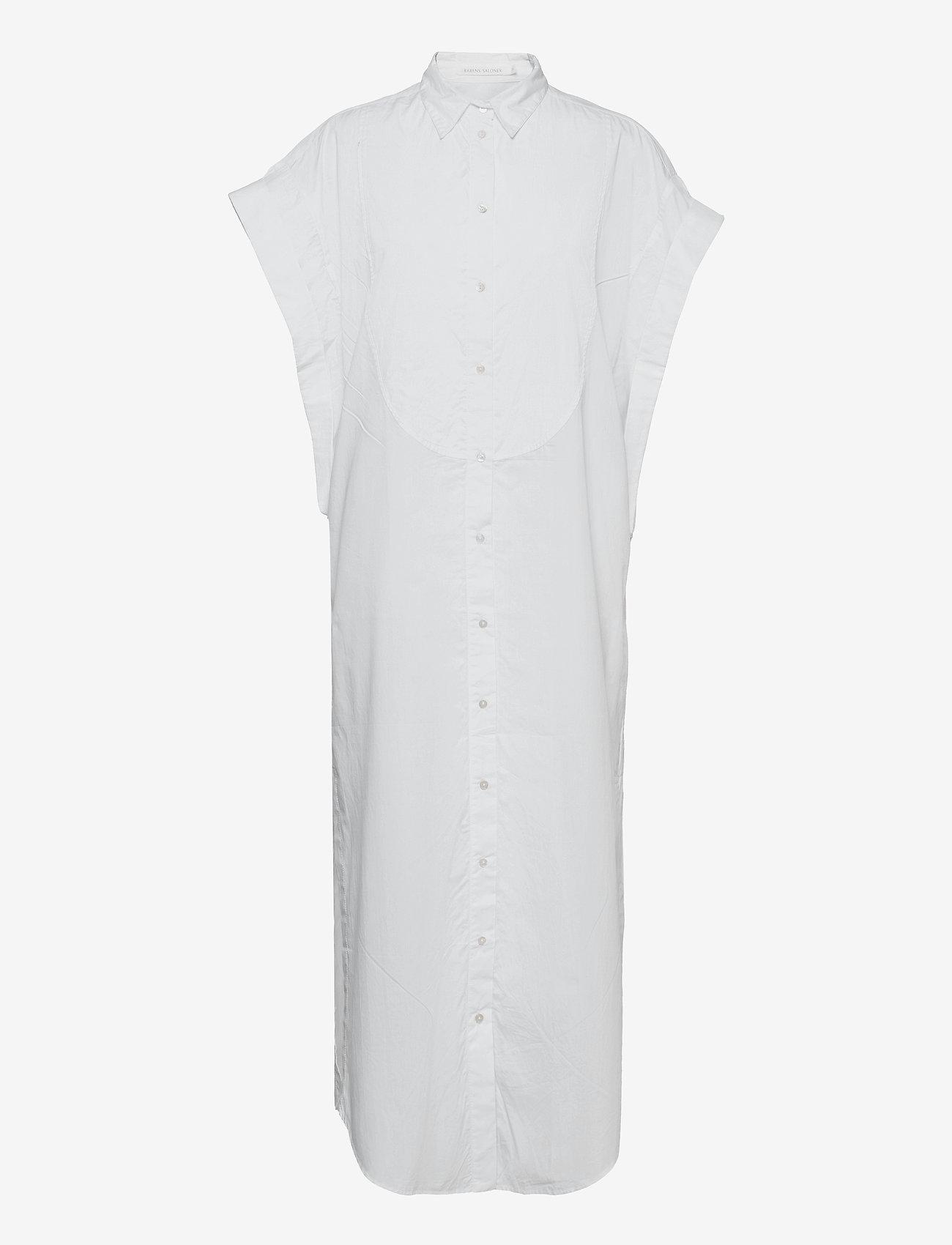 Rabens Saloner - Caysa - maxi dresses - white - 0