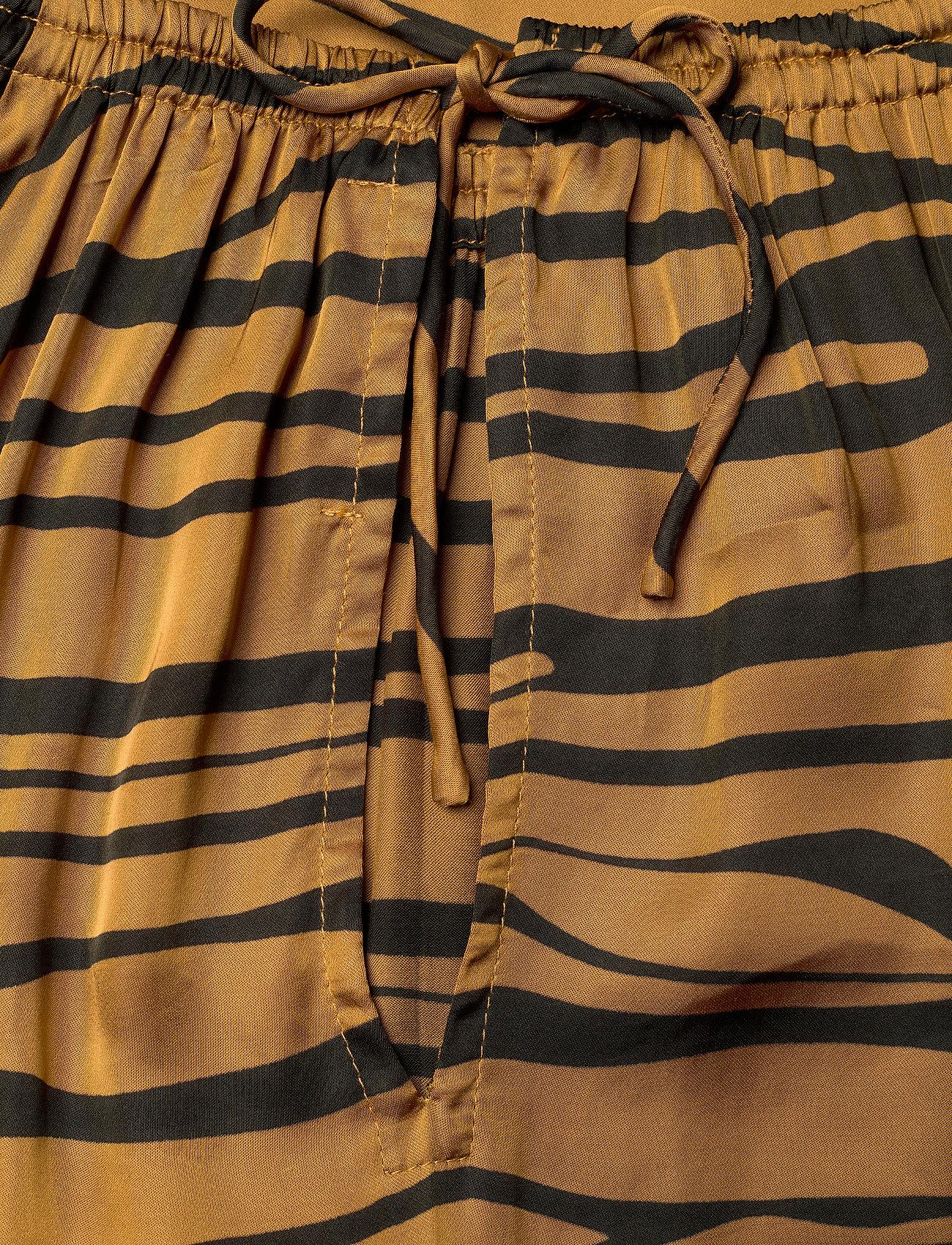 Rabens Saloner - Addi - maxi dresses - cognac/black - 4