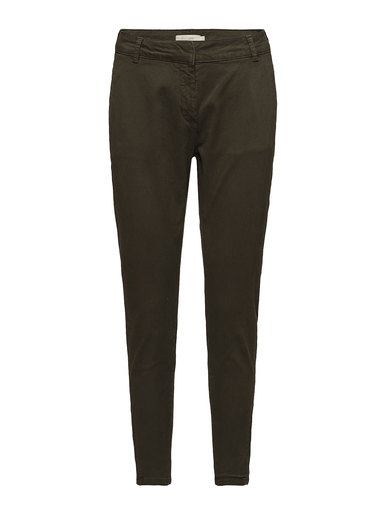 Rabens Saloner Riding relaxed fit pant - GREEN