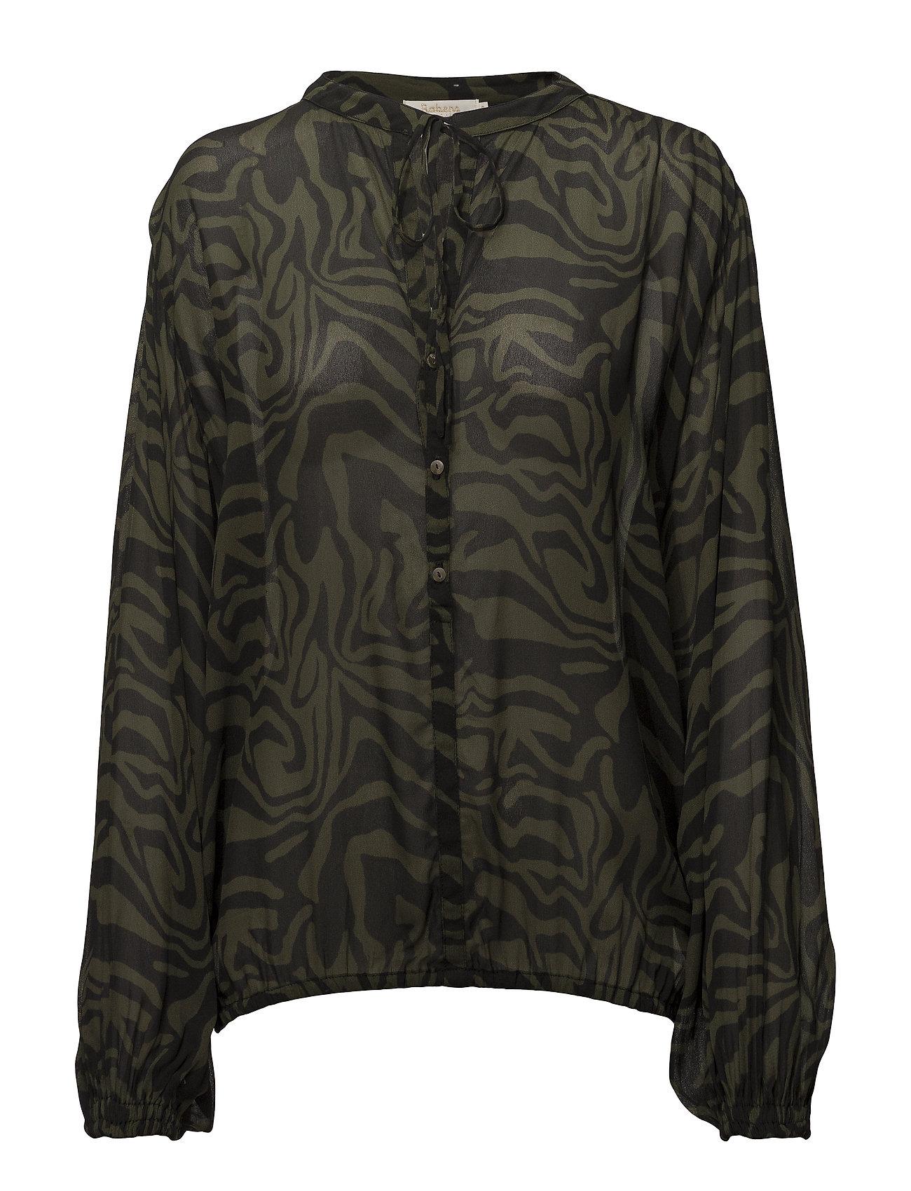 Rabens Saloner Safari shirt - ARMY