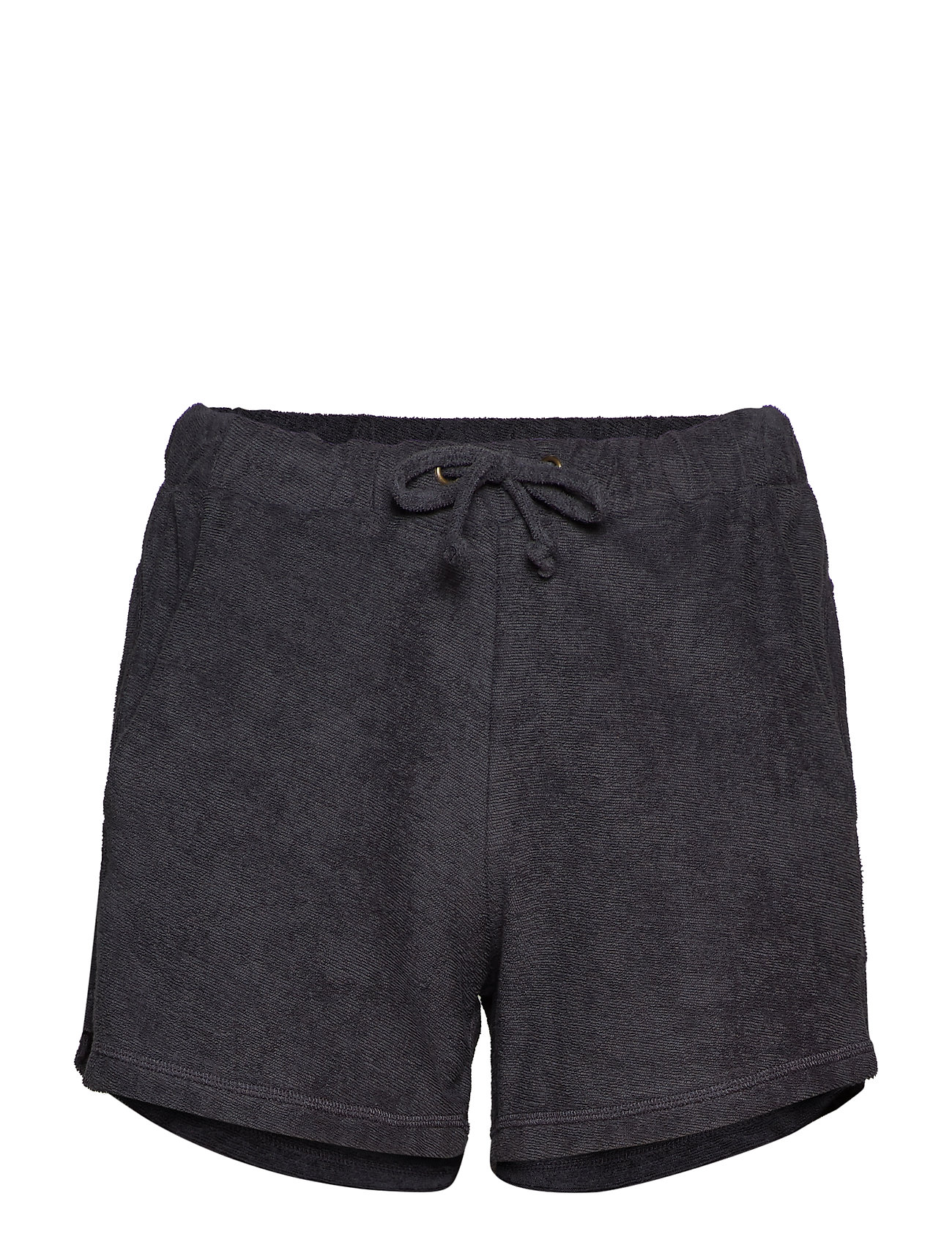 Rabens Saloner Towelling shorts - FADED BLACK