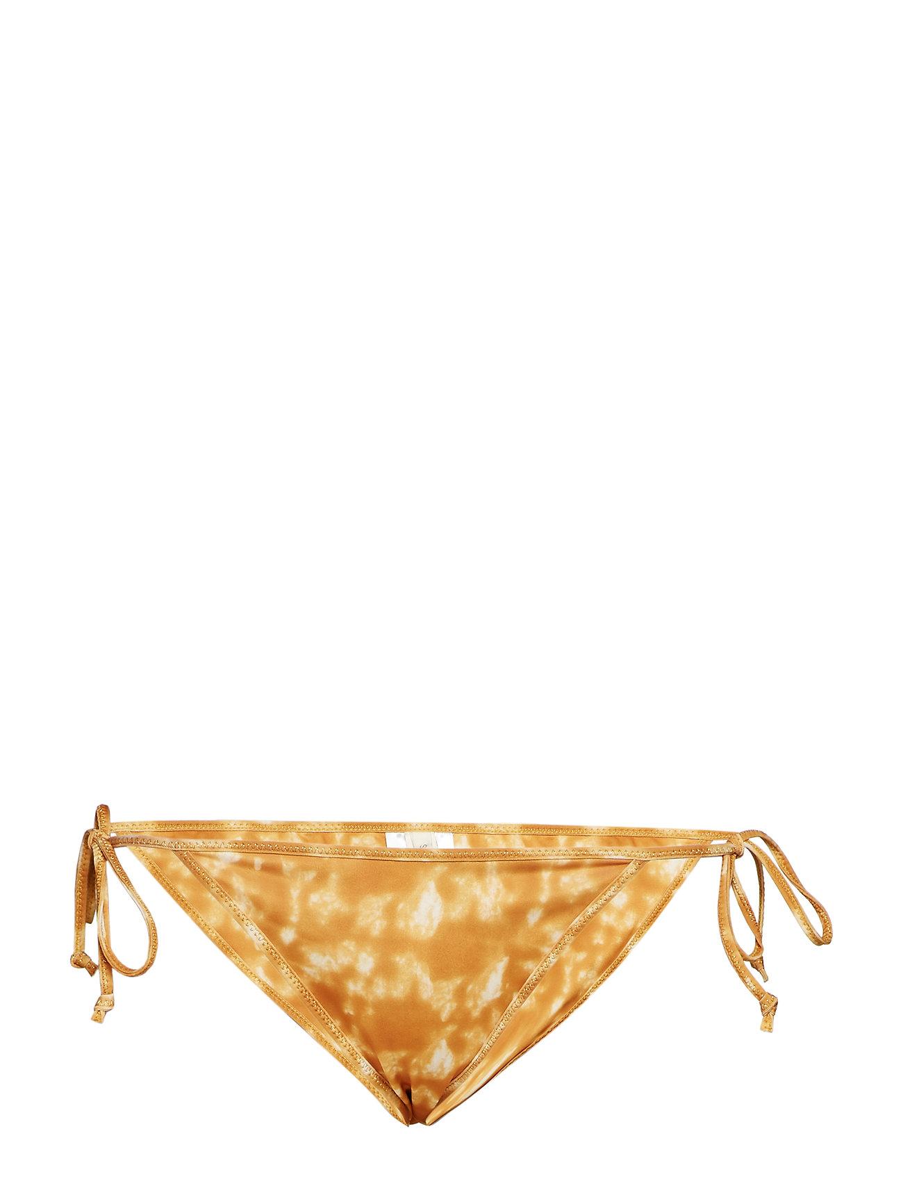 Rabens Saloner Bikini string bottom - GOLD