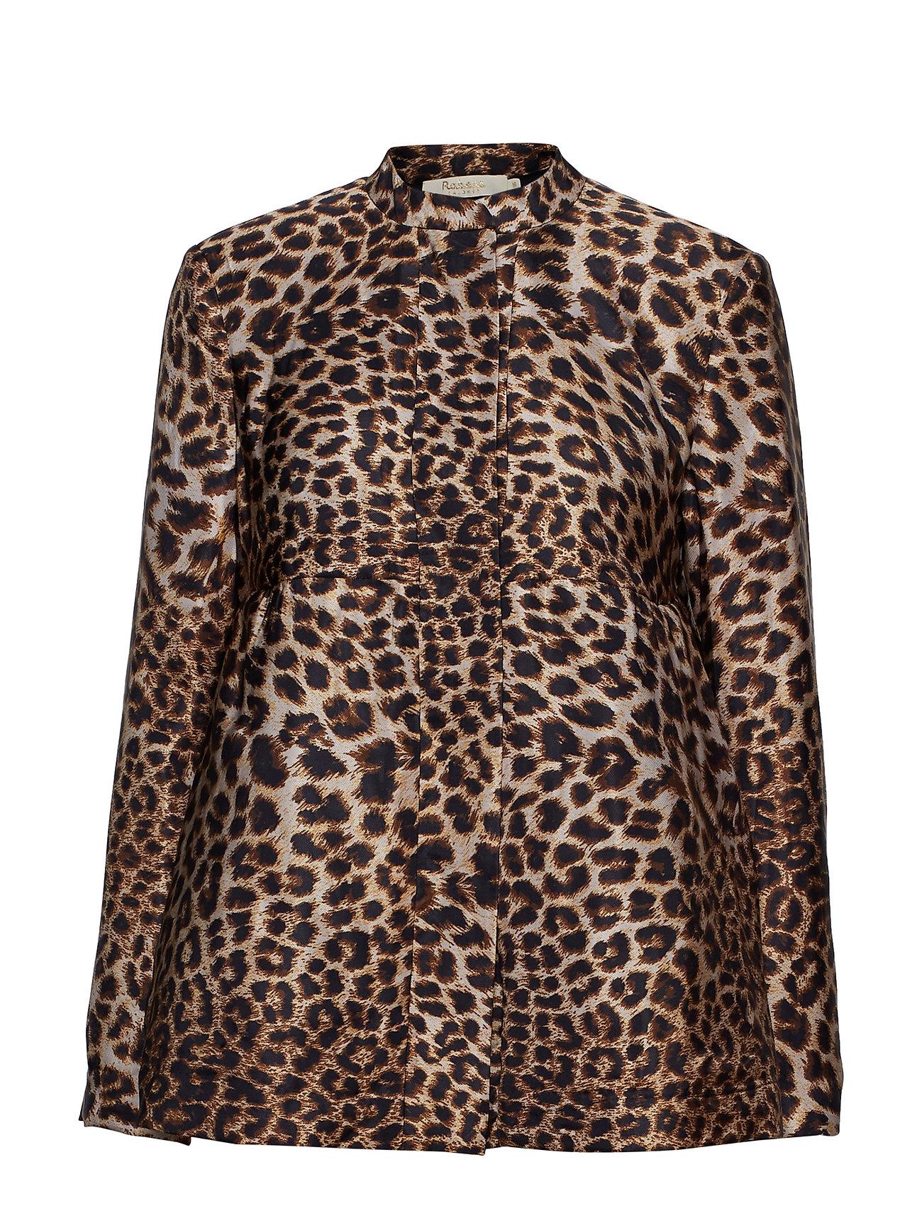 Rabens Saloner Jungle print jacket - JUNGLE