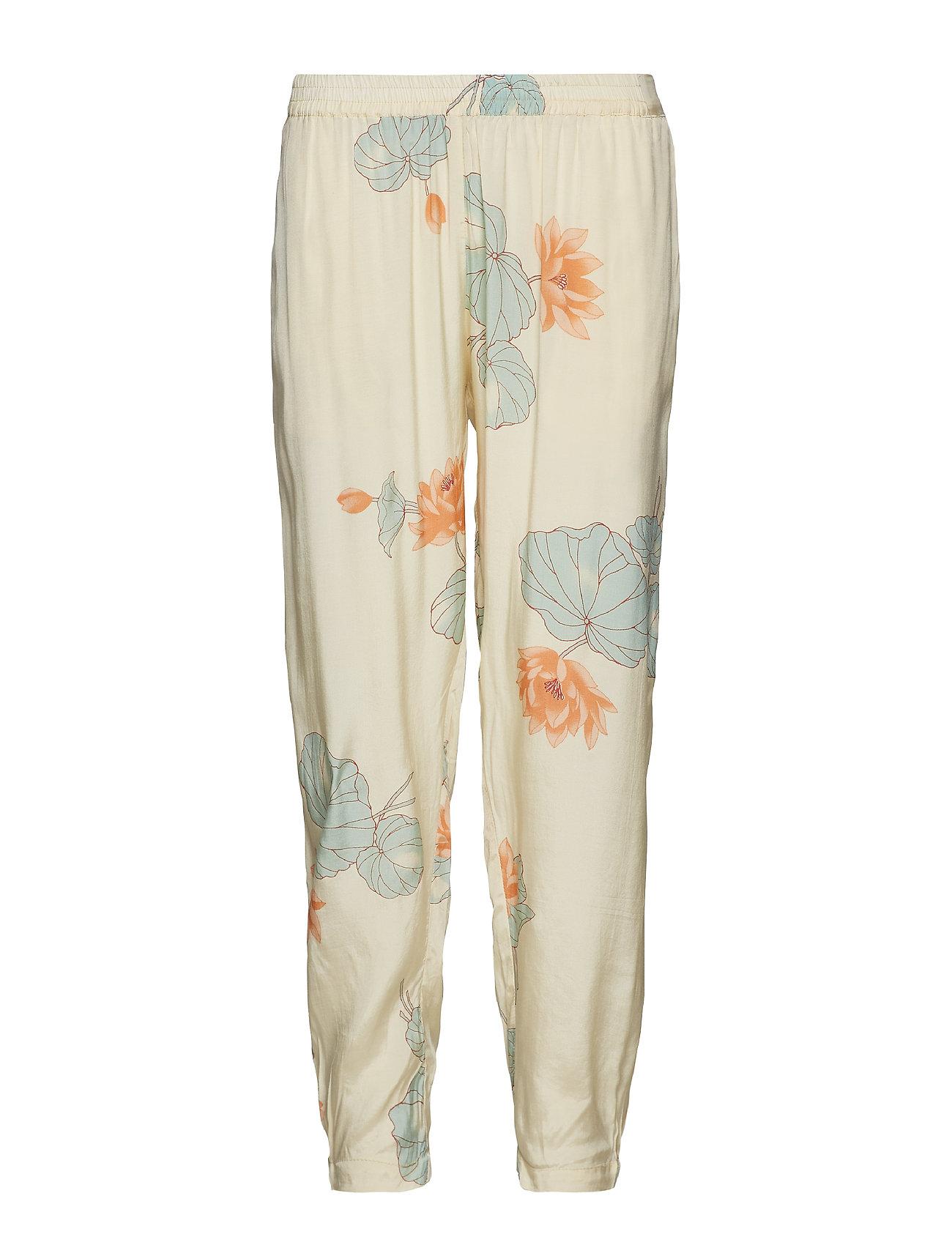 Rabens Saloner Lotus pants - BUTTERMILK
