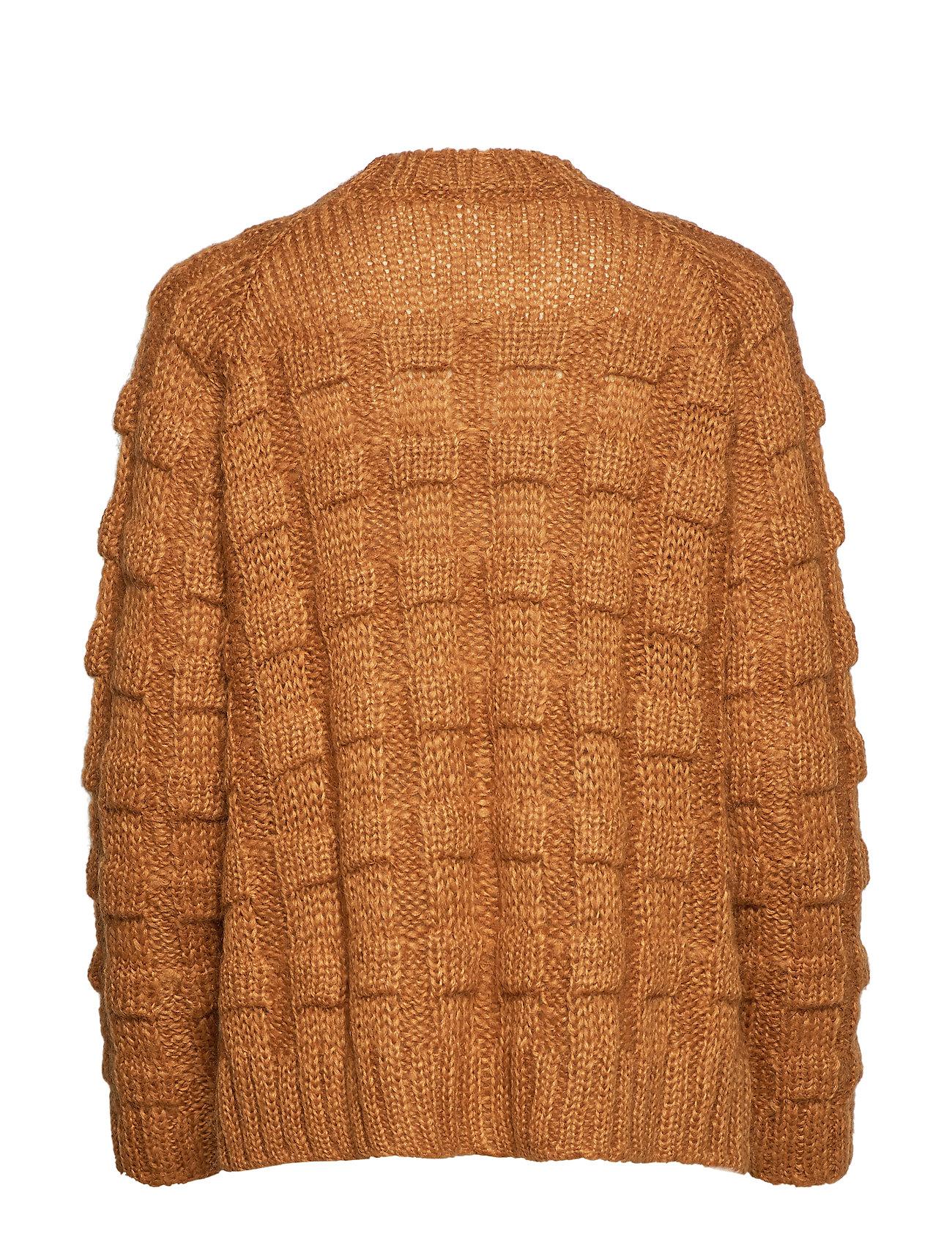 Boxy Croc Saloner SweatercaramelRabens Knit trshQdxC