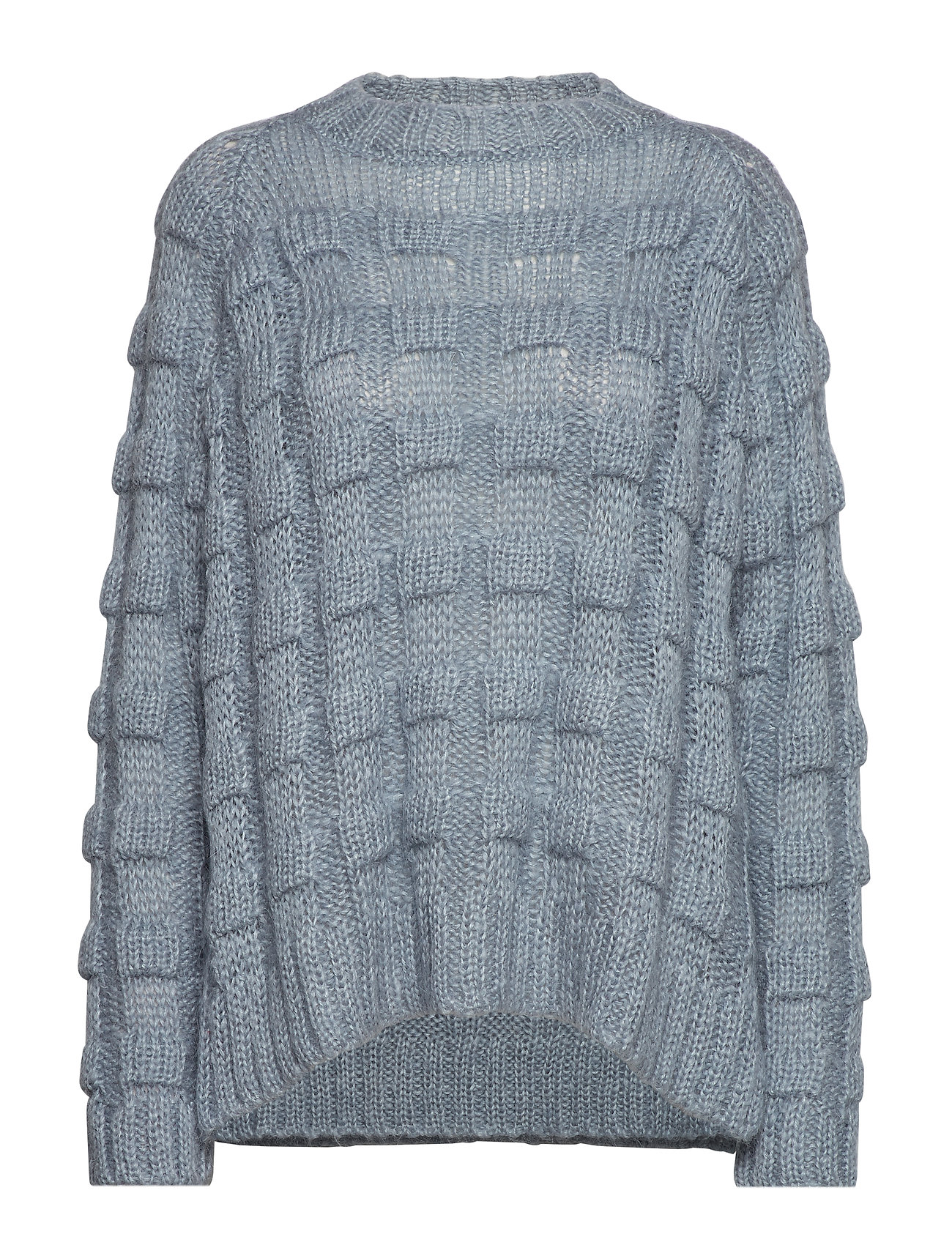 Sweaterice Saloner Boxy Knit BlueRabens Croc rWdCxBoe