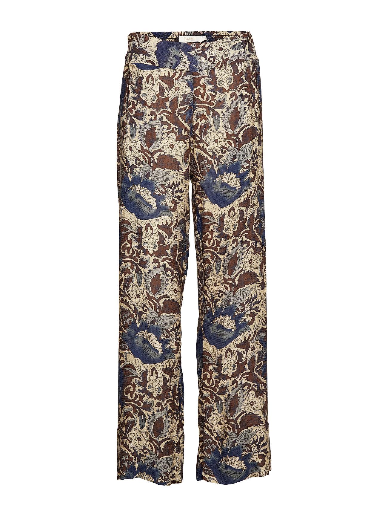 Rabens Saloner Wallflower wide leg pant - NAVY