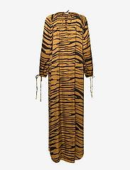 Rabens Saloner - Addi - maxi dresses - cognac/black - 1