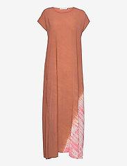Rabens Saloner - Jada - maxi dresses - terracota/pink combo - 0