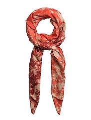 Ripple scarf - BLOOD/ORANGE