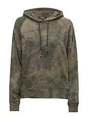 Tiedye hoodie - GREEN