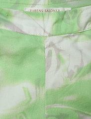 Rabens Saloner - Loa - bukser med brede ben - green combo - 4