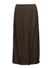 Houndstooth skirt - TARMAC