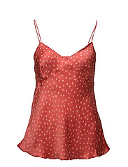 Dot camisole - POPPY RED