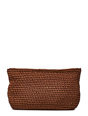 Crochet clutch - BRONZE
