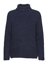 Soft rib FN sweater - NAVY