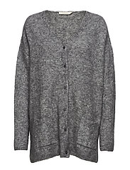 Mohair cardigan - GREY