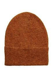 Mohair hat - BURNT ORANGE